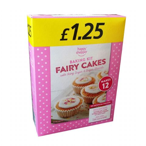 Fairy Cakes Home Baking Kit Happy Shopper 227g